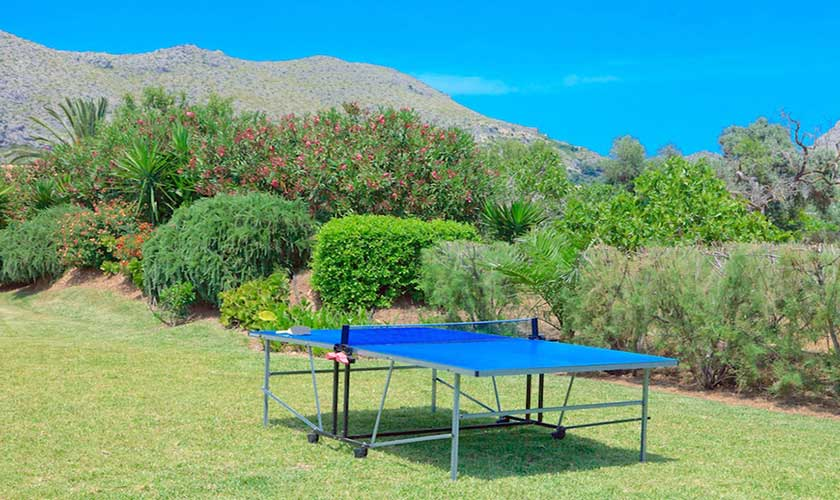 TischtennisFinca Mallorca Pollensa PM 3536