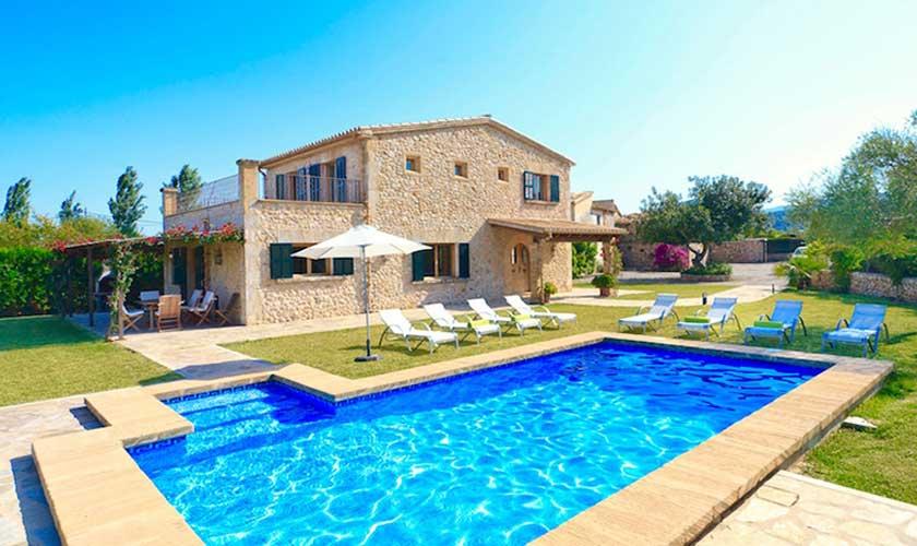 Pool und Finca Mallorca Pollensa PM 3536