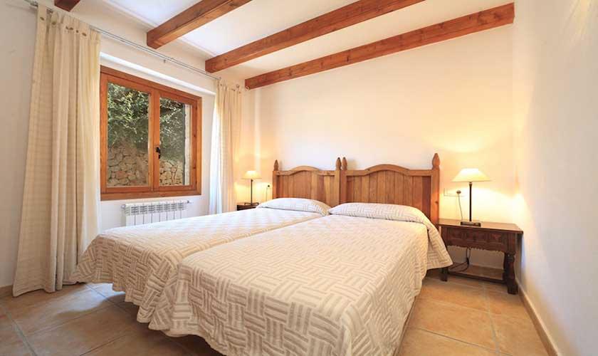 Schlafzimmer Finca Mallorca Pollensa PM 3536
