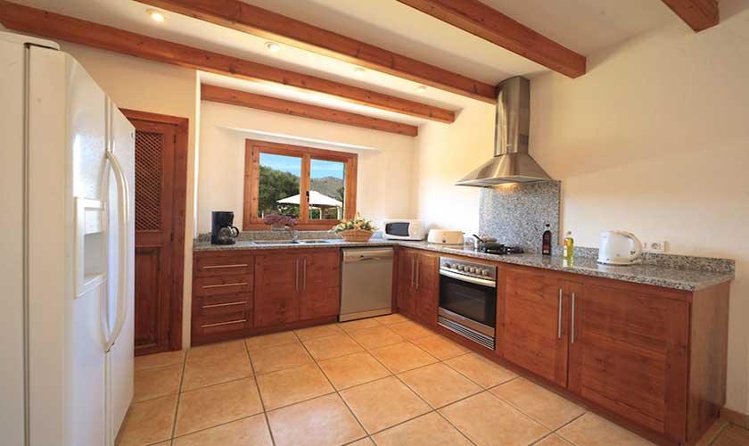 Küche Finca Mallorca Pollensa PM 3536