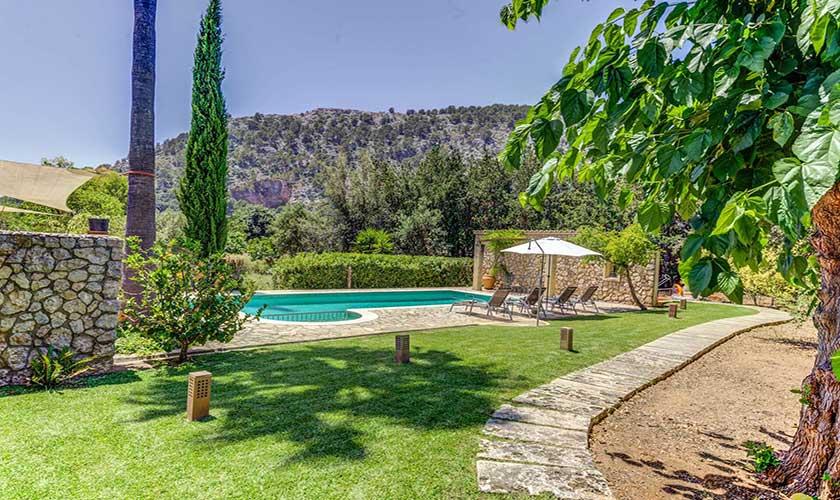Pool und Garten Finca Mallorca PM 3538