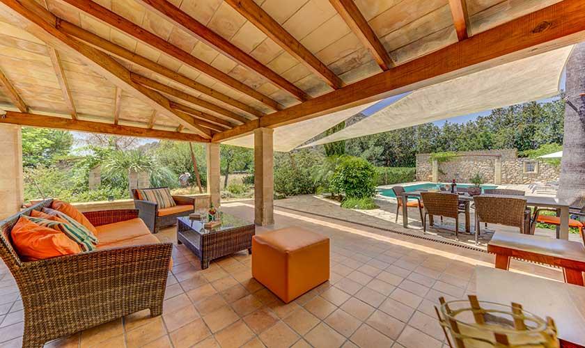 Terrasse Finca Mallorca PM 3538