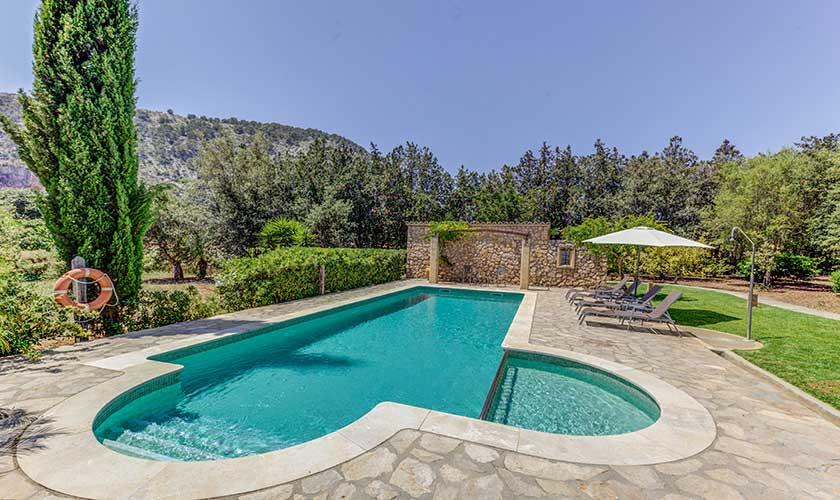 Poolblick Finca Mallorca PM 3538