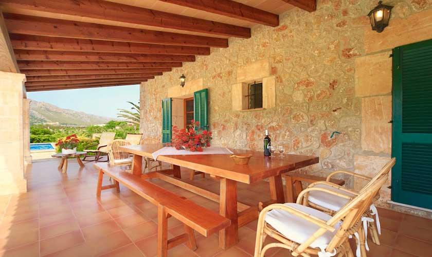 Terrasse und Finca Mallorca PM 3539