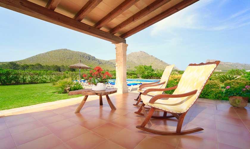 Terrasse Finca Mallorca PM 3539