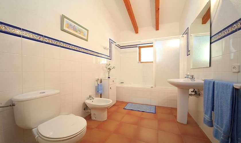 Badezimmer Finca Mallorca PM 3539