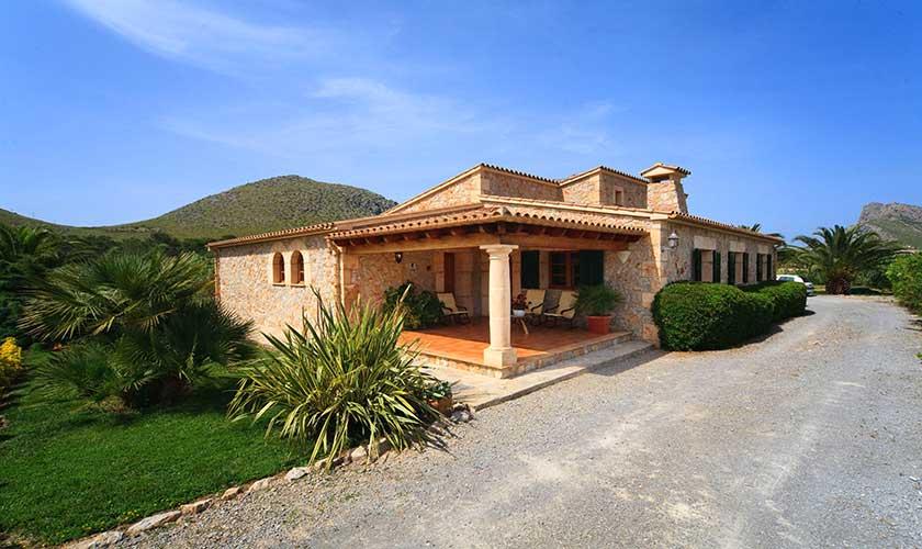 Blick auf die Finca Mallorca PM 3539