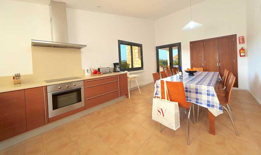 Küche Ferienvilla Mallorca PM 3540