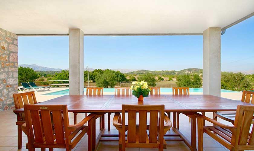 Terrasse Ferienvilla Mallorca PM 3540