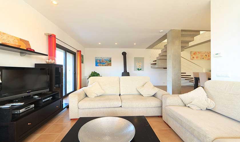 Wohnraum Ferienvilla Mallorca PM 3540