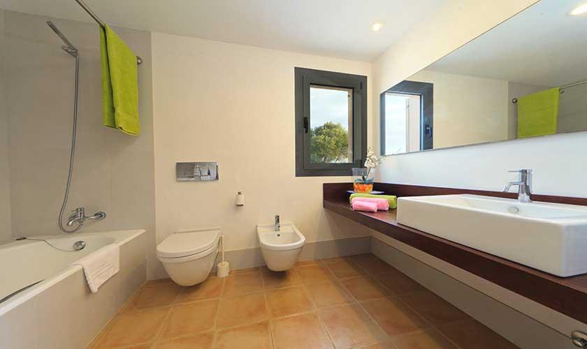Badezimmer Ferienvilla Mallorca PM 3540