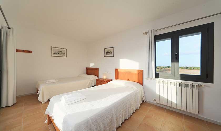 Schlafzimmer Ferienvilla Mallorca PM 3540