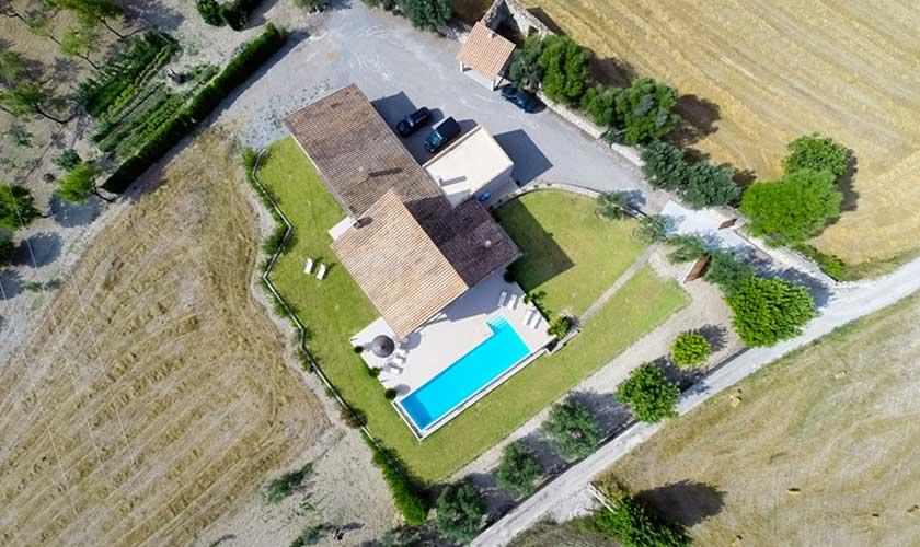 Luftbild Ferienvilla Mallorca PM 3540