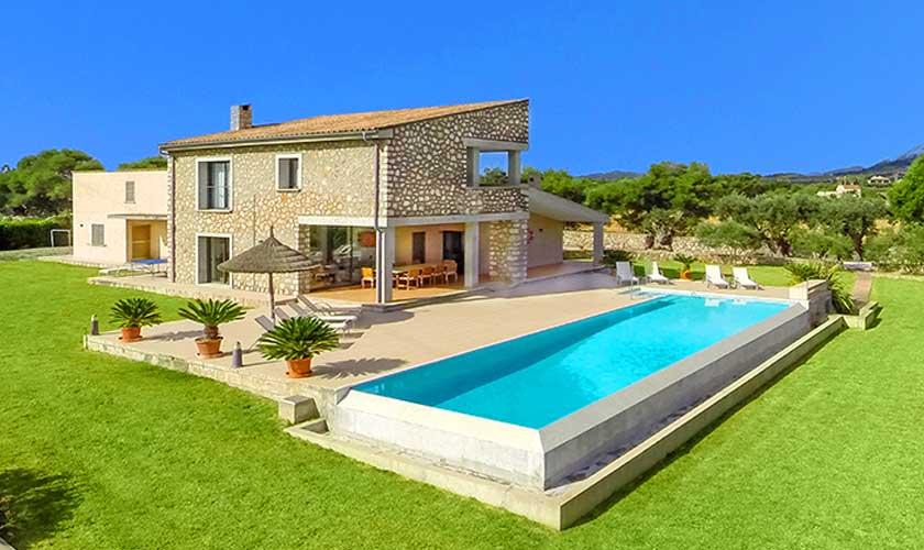 Pool und Ferienvilla Mallorca PM 3540
