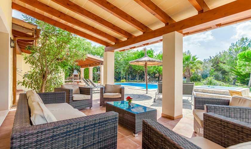 Lounge Terrasse Finca Mallorca PM 3541
