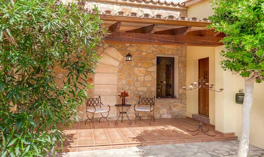 Hintere Terrasse Finca Mallorca PM 3541