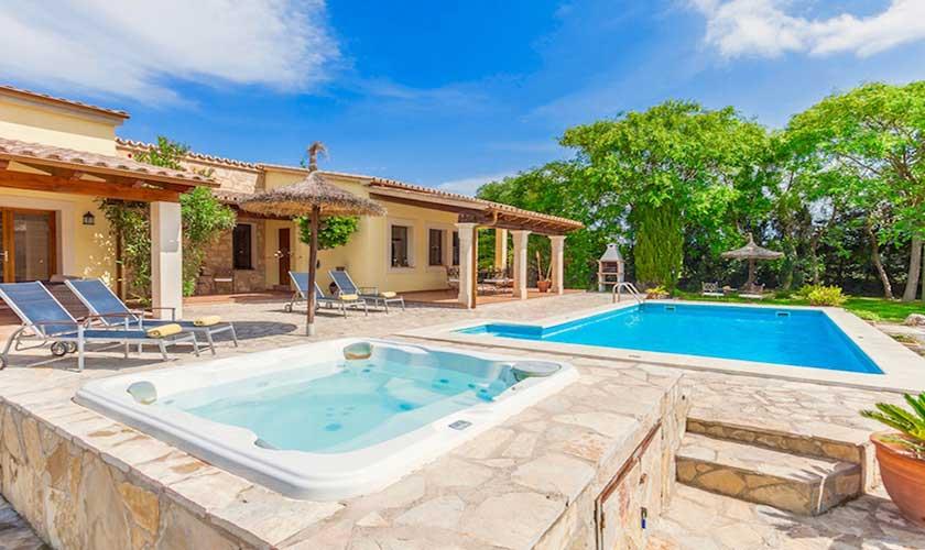 Pool und Jacuzzi Finca Mallorca PM 3541