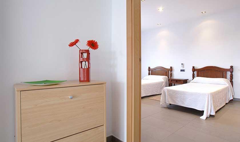 Zweibettschlafzimmer Ferienhaus Mallorca PM 3542