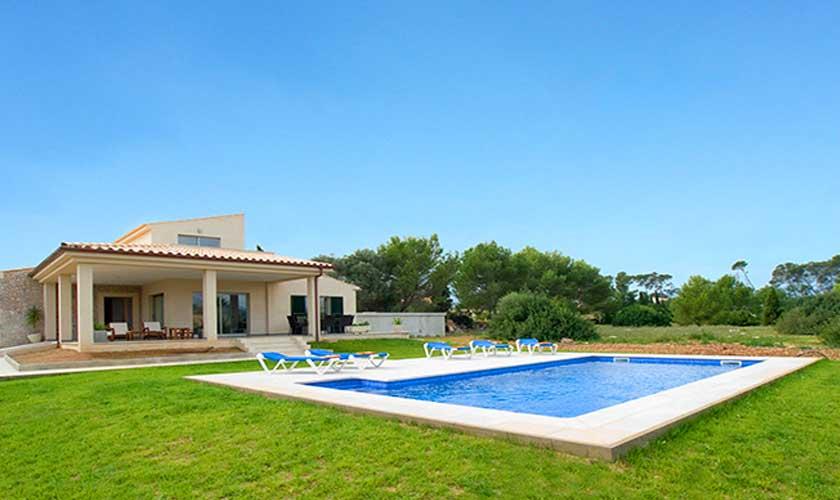 Pool und Ferienhaus Mallorca PM 3542