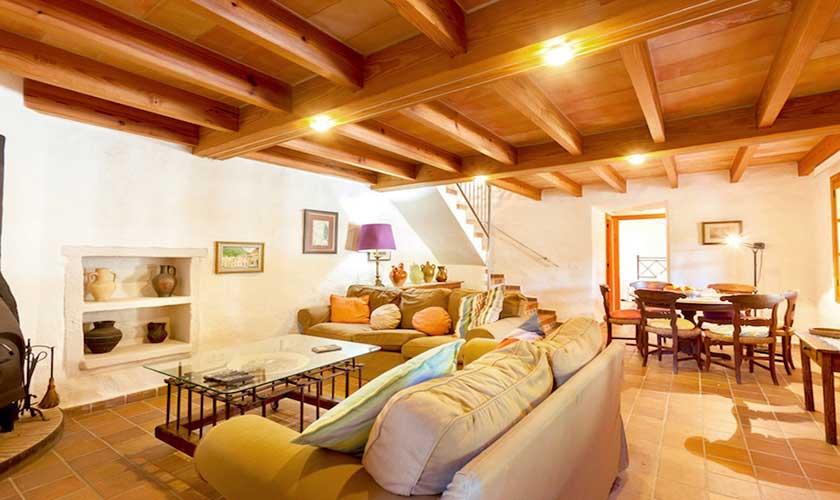 Wohnraum  Finca Mallorca 4 Personen PM 3543
