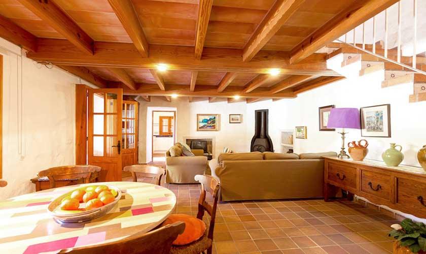 Essplatz und Küche Finca Mallorca 4 Personen PM 3543