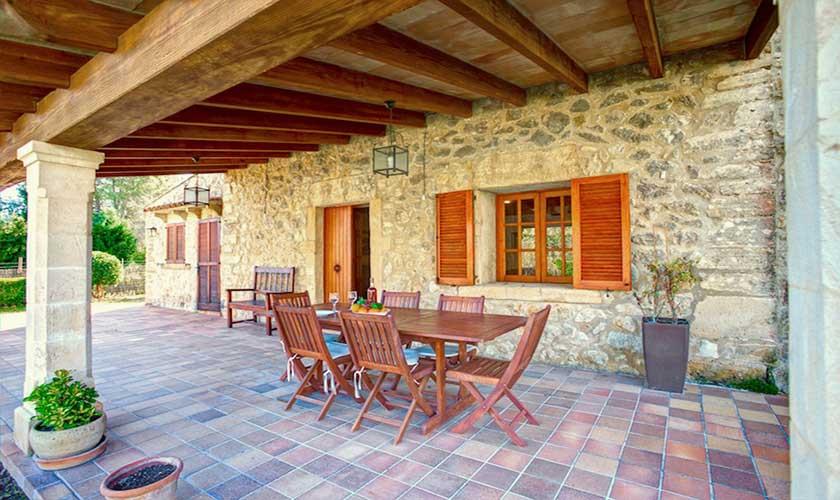 Terrasse Finca Mallorca 4 Personen PM 3543