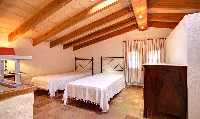 Zweibettzimmer Finca Mallorca 4 Personen PM 3543