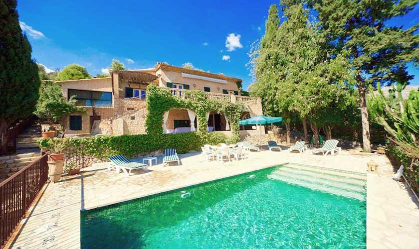 Pool und Ferienhaus Mallorca Pollensa PM 3544