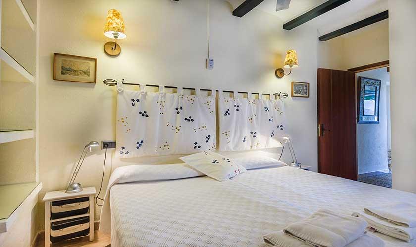 Schlafzimmer Ferienhaus Mallorca Pollensa PM 3544
