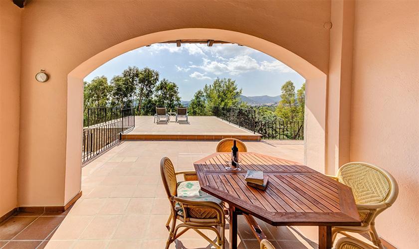 Terrasse Ferienvilla Mallorca PM 3545