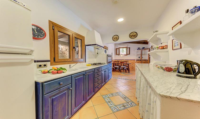 Küche Ferienvilla Mallorca PM 3545