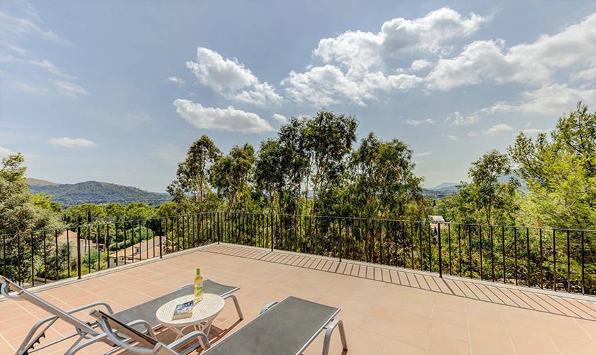 Blick in die Landschaft Ferienvilla Mallorca PM 3545
