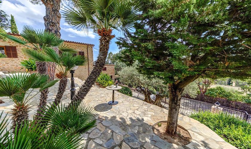 Garten Ferienvilla Mallorca PM 3545