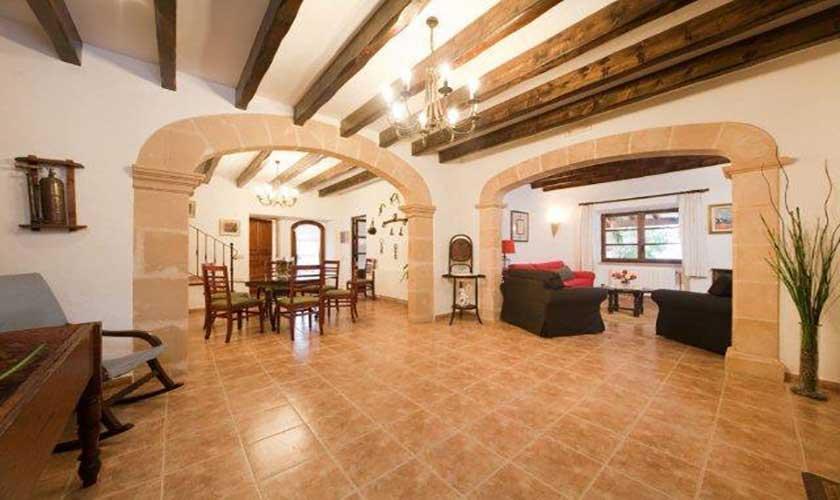 Wohnraum Finca Mallorca 6 Personen PM 3546