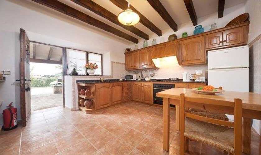 Küche Finca Mallorca 6 Personen PM 3546