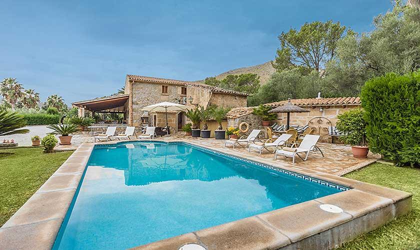 Pool und Finca Mallorca 6 Personen PM 3546