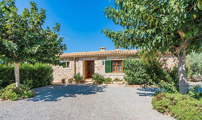 Blick auf die Finca Mallorca PM 3565
