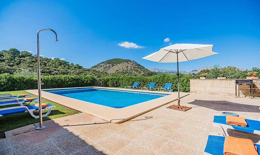 Poolblick Finca Mallorca PM 3565