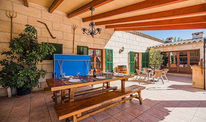 Esstisch Terrasse Finca Mallorca PM 3565