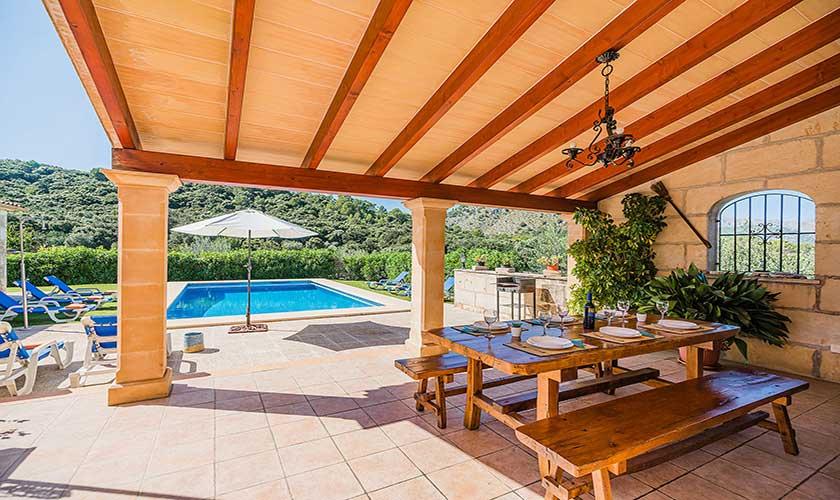 Terrasse und Finca Mallorca PM 3565