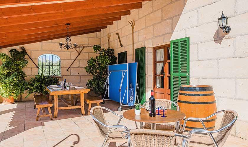 Terrasse Finca Mallorca PM 3565