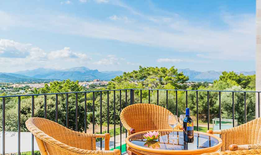 Terrasse Villa Mallorca 12 Personen PM 3601