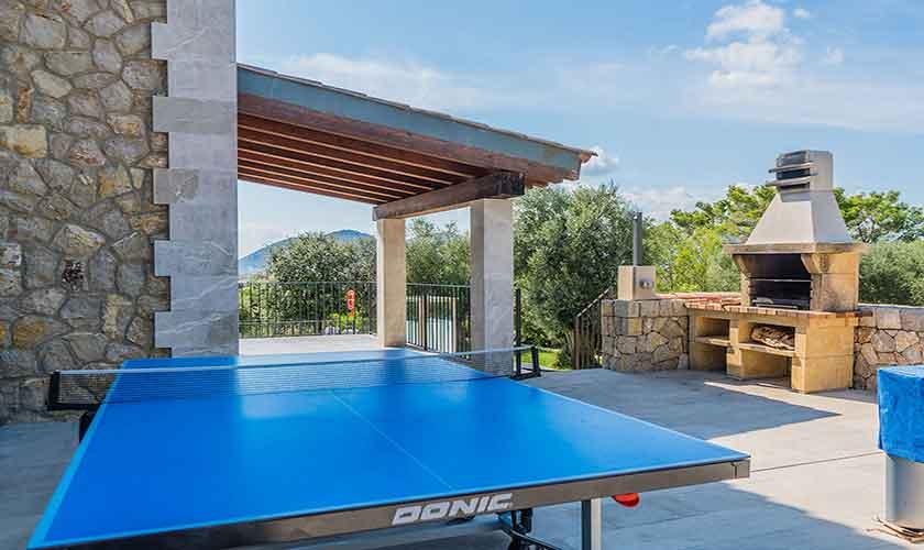 Tischtennis Villa Mallorca 12 Personen PM 3601