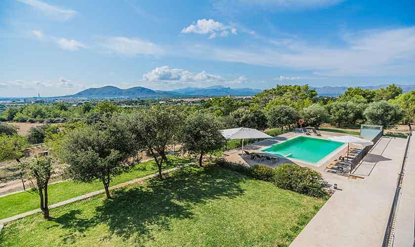 Poolblick Villa Mallorca 12 Personen PM 3601