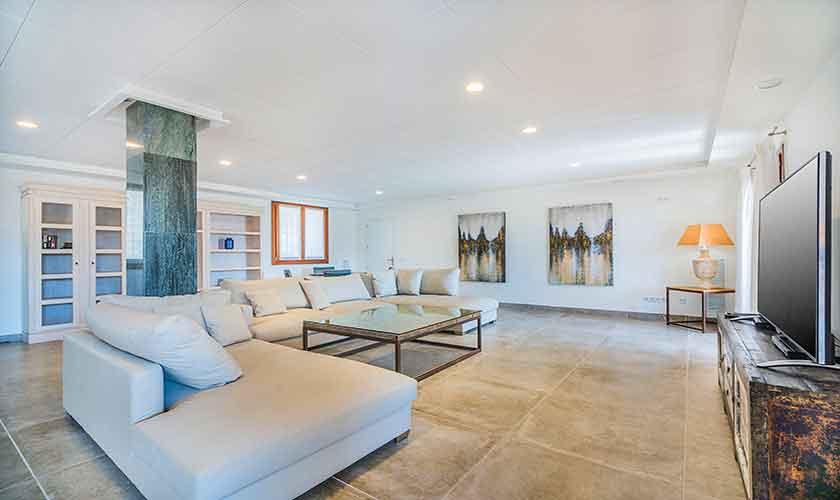 Wohnraum Villa Mallorca 12 Personen PM 3601