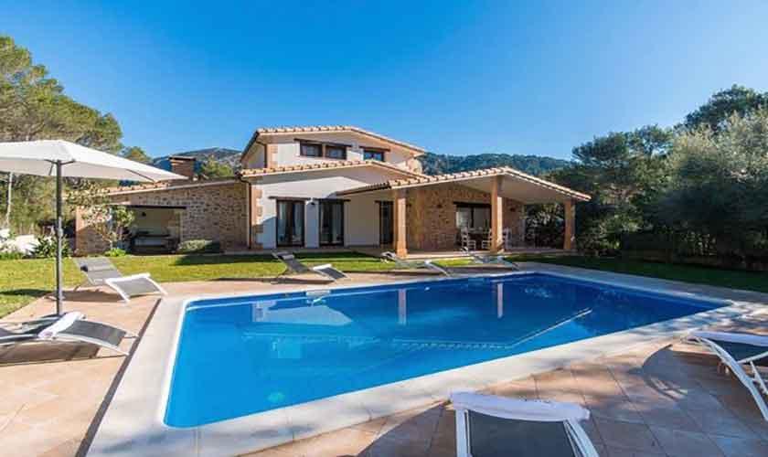 Pool und Ferienhaus Mallorca Norden PM 3650