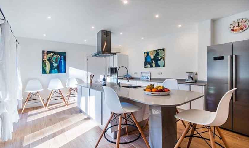 Küche Ferienhaus Mallorca Norden PM 3650
