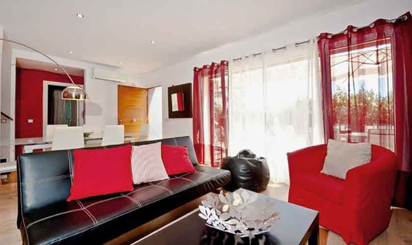 Wohnraum Ferienhaus Mallorca Alcudia PM 3651