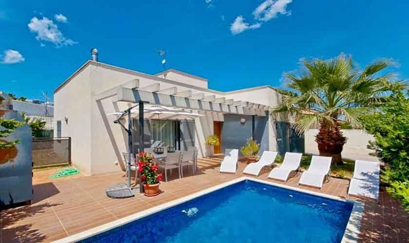 Pool und Ferienhaus Mallorca Port Alcudia PM 3651