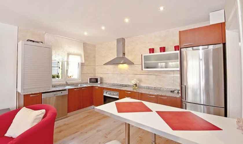 Küche Ferienhaus Mallorca Alcudia PM 3651